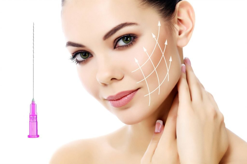 What is the Biological Principle of a Face Thread Lift?