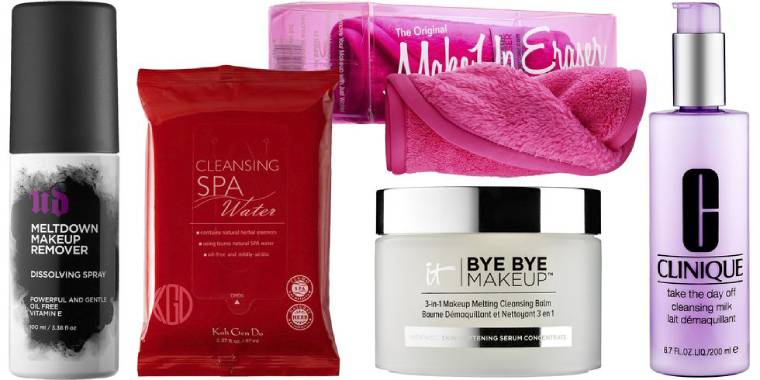 Makeup removing wipes/spray/towel