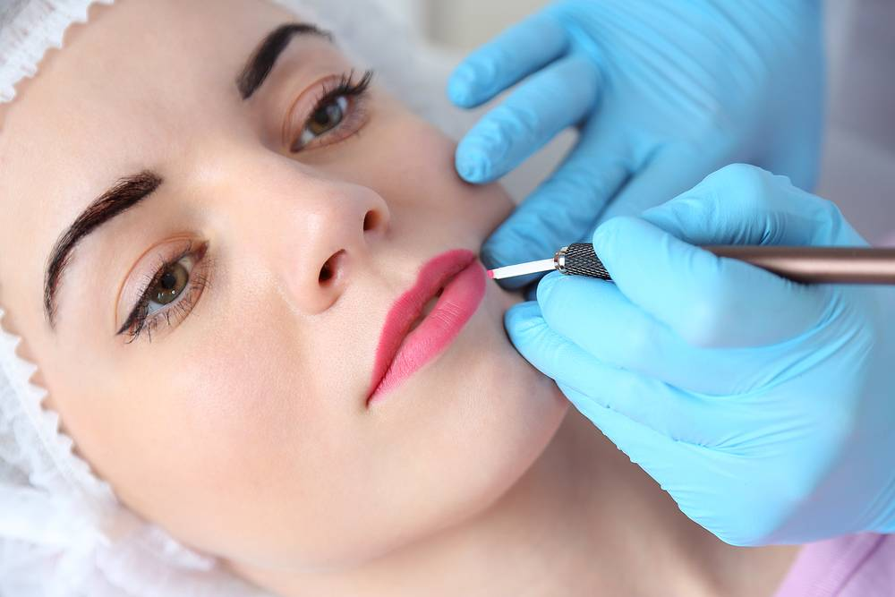 Permanent or Semi-Permanent Lip Makeup