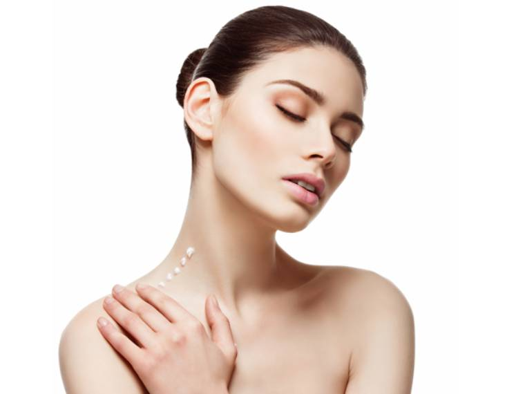 Moisturizer your neck skin