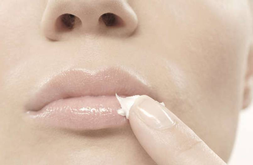 What are some natural remedies for lip exfoliation?
