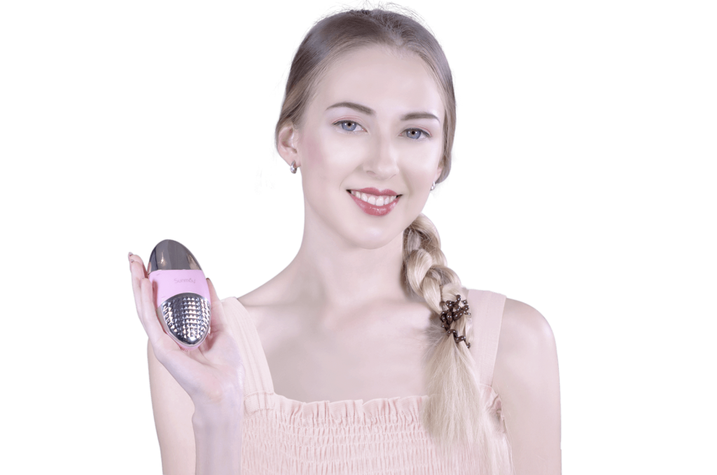 sunmay oval ionic face cleansing brush