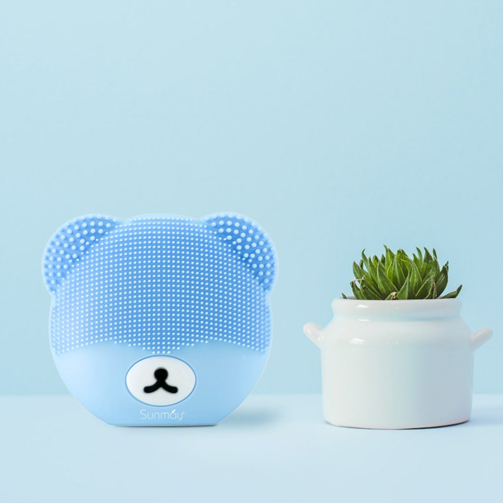 Sunmay Youth Bear Shape Sonic Face Cleansing Brush